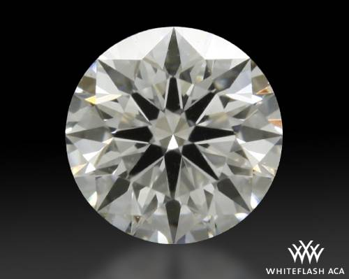 0.473 ct D SI1 A CUT ABOVE® Hearts and Arrows Super Ideal Round Cut Loose Diamond