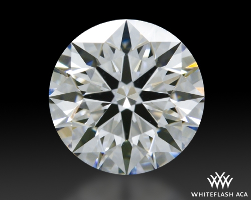 0.756 ct E VS1 A CUT ABOVE® Hearts and Arrows Super Ideal Round Cut Loose Diamond
