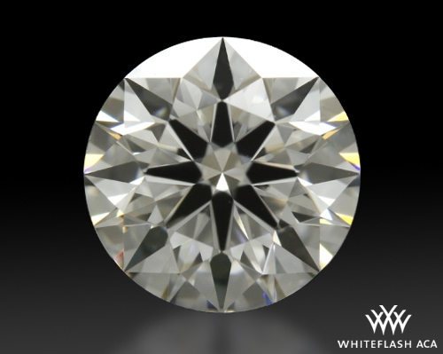 0.763 ct F VVS2 A CUT ABOVE® Hearts and Arrows Super Ideal Round Cut Loose Diamond