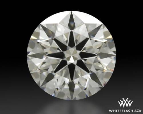 0.77 ct F VS1 A CUT ABOVE® Hearts and Arrows Super Ideal Round Cut Loose Diamond