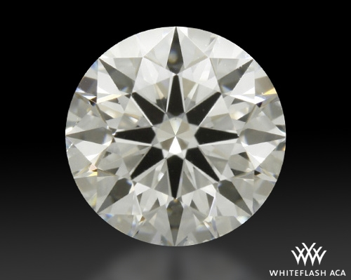 0.816 ct G SI1 A CUT ABOVE® Hearts and Arrows Super Ideal Round Cut Loose Diamond