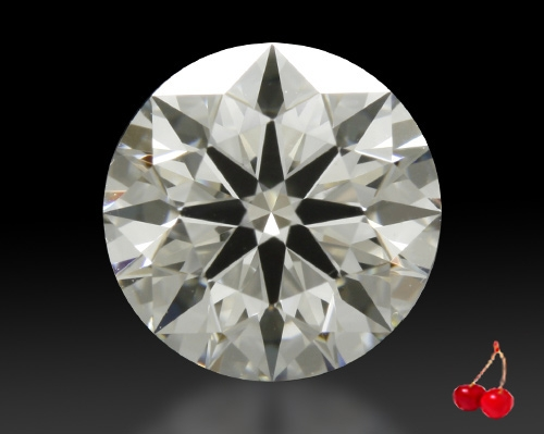 0.908 ct I VS2 A CUT ABOVE® Hearts and Arrows Super Ideal Round Cut Loose Diamond
