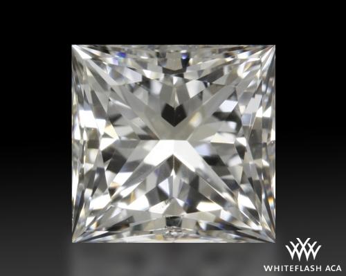 1.01 ct F SI1 A CUT ABOVE® Princess Super Ideal Cut Diamond