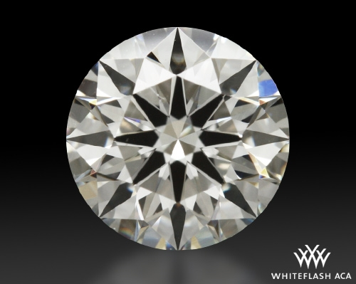 0.817 ct I VS1 A CUT ABOVE® Hearts and Arrows Super Ideal Round Cut Loose Diamond