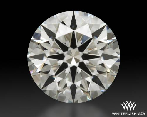 0.722 ct H SI1 A CUT ABOVE® Hearts and Arrows Super Ideal Round Cut Loose Diamond