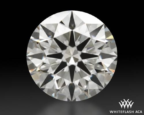 0.798 ct F VS1 A CUT ABOVE® Hearts and Arrows Super Ideal Round Cut Loose Diamond