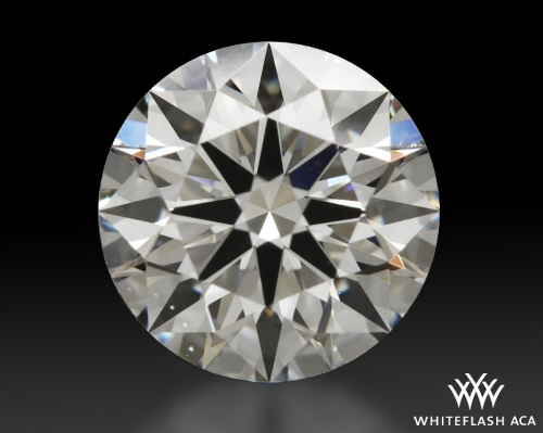 1.02 ct F VS1 A CUT ABOVE® Hearts and Arrows Super Ideal Round Cut Loose Diamond