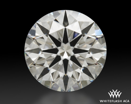 1.241 ct G SI1 A CUT ABOVE® Hearts and Arrows Super Ideal Round Cut Loose Diamond