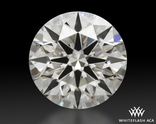 1.243 ct G VS2 A CUT ABOVE® Hearts and Arrows Super Ideal Round Cut Loose Diamond