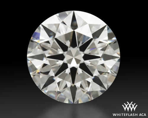 2.224 ct H VS1 A CUT ABOVE® Hearts and Arrows Super Ideal Round Cut Loose Diamond
