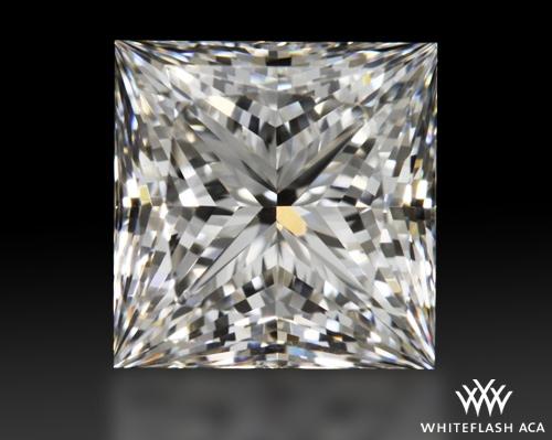 1.245 ct G VS1 A CUT ABOVE® Princess Super Ideal Cut Diamond