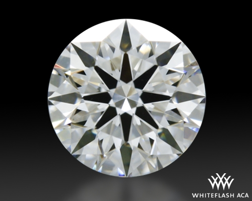 0.417 ct F VVS1 A CUT ABOVE® Hearts and Arrows Super Ideal Round Cut Loose Diamond