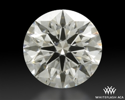 0.416 ct E SI1 A CUT ABOVE® Hearts and Arrows Super Ideal Round Cut Loose Diamond