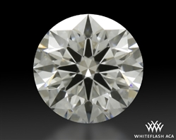 0.413 ct F VVS1 A CUT ABOVE® Hearts and Arrows Super Ideal Round Cut Loose Diamond