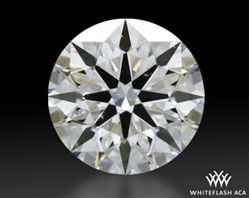 0.416 ct F VVS1 A CUT ABOVE® Hearts and Arrows Super Ideal Round Cut Loose Diamond