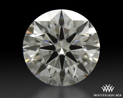 0.431 ct D VVS1 A CUT ABOVE® Hearts and Arrows Super Ideal Round Cut Loose Diamond