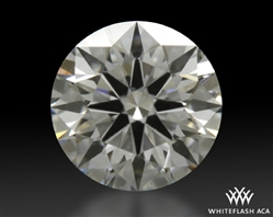 0.431 ct D VVS1 A CUT ABOVE® Hearts and Arrows Super Ideal Round Cut Loose Diamond