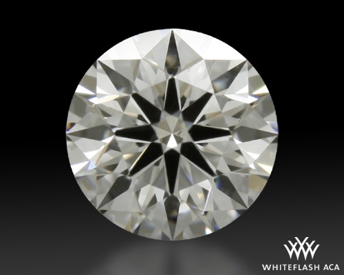 0.415 ct E VS2 A CUT ABOVE® Hearts and Arrows Super Ideal Round Cut Loose Diamond