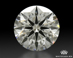 0.457 ct F VS2 A CUT ABOVE® Hearts and Arrows Super Ideal Round Cut Loose Diamond