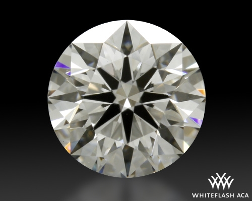 0.754 ct F VS1 A CUT ABOVE® Hearts and Arrows Super Ideal Round Cut Loose Diamond