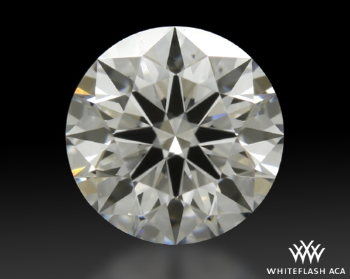 0.768 ct E VS2 A CUT ABOVE® Hearts and Arrows Super Ideal Round Cut Loose Diamond