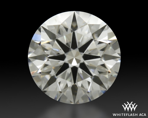 0.77 ct F VS2 A CUT ABOVE® Hearts and Arrows Super Ideal Round Cut Loose Diamond
