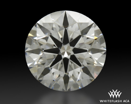 0.822 ct F VVS1 A CUT ABOVE® Hearts and Arrows Super Ideal Round Cut Loose Diamond