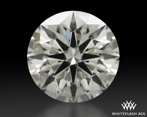 0.752 ct F VS1 A CUT ABOVE® Hearts and Arrows Super Ideal Round Cut Loose Diamond