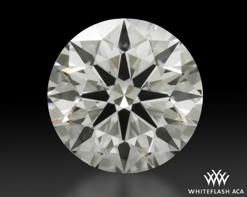 0.702 ct E SI1 A CUT ABOVE® Hearts and Arrows Super Ideal Round Cut Loose Diamond