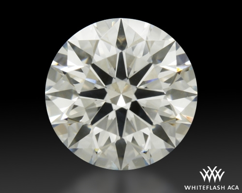 0.754 ct F SI2 A CUT ABOVE® Hearts and Arrows Super Ideal Round Cut Loose Diamond