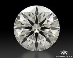 0.738 ct H VS1 A CUT ABOVE® Hearts and Arrows Super Ideal Round Cut Loose Diamond
