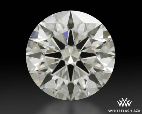 0.903 ct F VS2 A CUT ABOVE® Hearts and Arrows Super Ideal Round Cut Loose Diamond