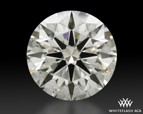 2.142 ct I VS2 A CUT ABOVE® Hearts and Arrows Super Ideal Round Cut Loose Diamond