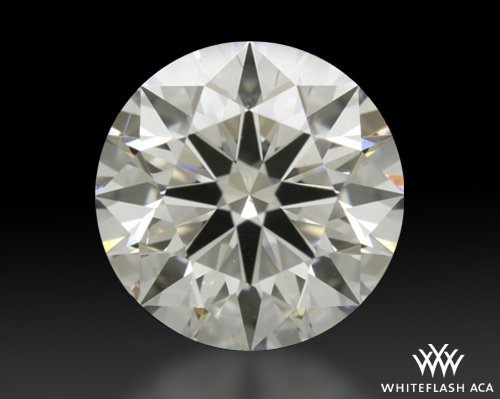 2.214 ct H SI1 A CUT ABOVE® Hearts and Arrows Super Ideal Round Cut Loose Diamond