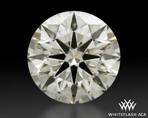 1.342 ct G VS2 A CUT ABOVE® Hearts and Arrows Super Ideal Round Cut Loose Diamond
