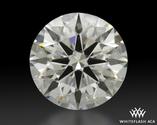 0.91 ct F VS2 A CUT ABOVE® Hearts and Arrows Super Ideal Round Cut Loose Diamond