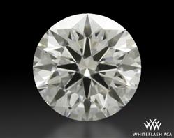 0.412 ct E SI1 A CUT ABOVE® Hearts and Arrows Super Ideal Round Cut Loose Diamond