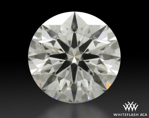 0.424 ct E SI1 A CUT ABOVE® Hearts and Arrows Super Ideal Round Cut Loose Diamond