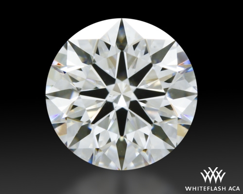 1.013 ct G VS2 A CUT ABOVE® Hearts and Arrows Super Ideal Round Cut Loose Diamond