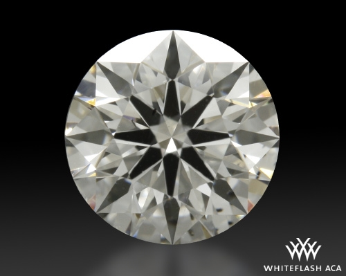 0.813 ct G SI1 A CUT ABOVE® Hearts and Arrows Super Ideal Round Cut Loose Diamond