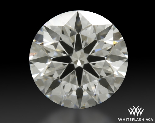 1.021 ct G SI1 A CUT ABOVE® Hearts and Arrows Super Ideal Round Cut Loose Diamond