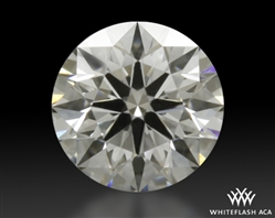 0.306 ct D SI1 A CUT ABOVE® Hearts and Arrows Super Ideal Round Cut Loose Diamond