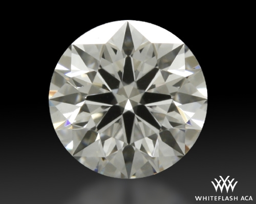 0.31 ct F VS2 A CUT ABOVE® Hearts and Arrows Super Ideal Round Cut Loose Diamond