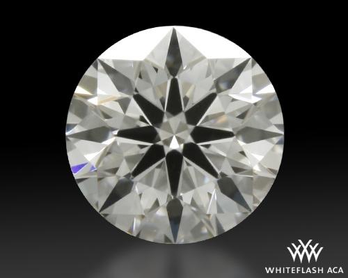 0.308 ct E SI1 A CUT ABOVE® Hearts and Arrows Super Ideal Round Cut Loose Diamond