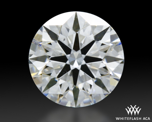 0.331 ct D SI1 A CUT ABOVE® Hearts and Arrows Super Ideal Round Cut Loose Diamond