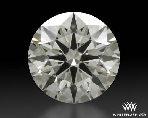 0.554 ct H VS1 A CUT ABOVE® Hearts and Arrows Super Ideal Round Cut Loose Diamond