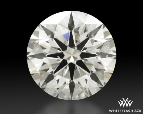 0.618 ct I SI1 A CUT ABOVE® Hearts and Arrows Super Ideal Round Cut Loose Diamond