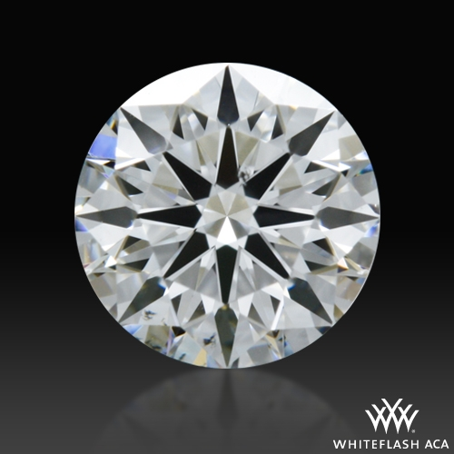0.52 ct F SI1 A CUT ABOVE® Hearts and Arrows Super Ideal Round Cut Loose Diamond