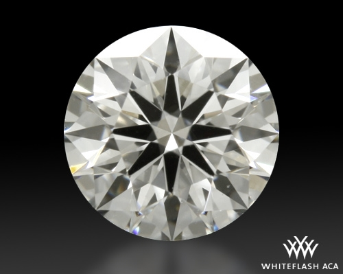 0.423 ct H VS1 A CUT ABOVE® Hearts and Arrows Super Ideal Round Cut Loose Diamond