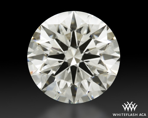 1.318 ct I SI1 A CUT ABOVE® Hearts and Arrows Super Ideal Round Cut Loose Diamond